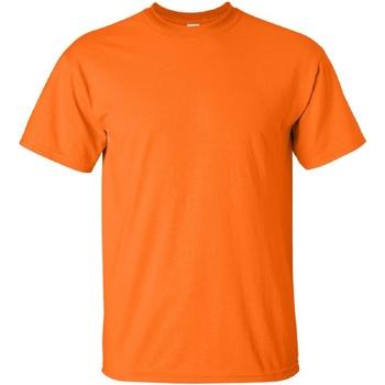 Abbigliamento Uomo T-shirt maniche corte Gildan Ultra Arancio sicurezza