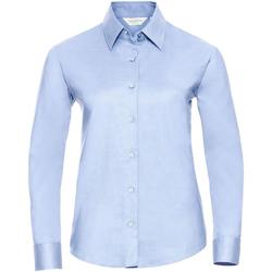 Abbigliamento Donna Camicie Russell 932F Blu intenso
