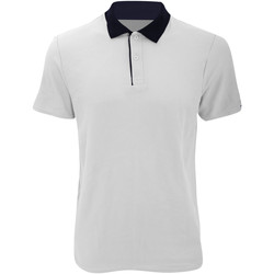 Abbigliamento Uomo Polo maniche corte Anvil 6280 Bianco/Blu navy
