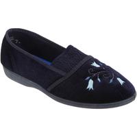 Scarpe Donna Pantofole Sleepers Inez Blu navy