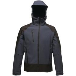 Abbigliamento Uomo giacca a vento Regatta Powergrid Blu/Nero