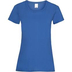 Abbigliamento Donna T-shirt maniche corte Universal Textiles 61372 Cobalto