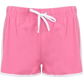 Abbigliamento Donna Shorts / Bermuda Skinni Fit SK69 Rosso