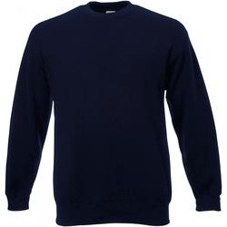 Abbigliamento Uomo Felpe Universal Textiles 62202 Blu notte