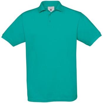 Abbigliamento Uomo Polo maniche corte B And C PU409 Turchese