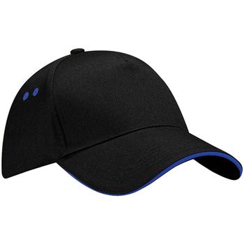 Accessori Cappellini Beechfield B15C Nero/Blu reale