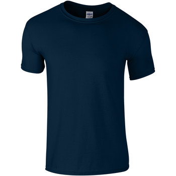 Abbigliamento Unisex bambino T-shirt maniche corte Gildan 64000B Blu navy