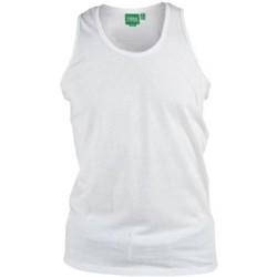 Abbigliamento Uomo Top / T-shirt senza maniche Duke Fabio Bianco