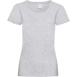 Abbigliamento Donna T-shirt maniche corte Universal Textiles 61372 Grigio screziato