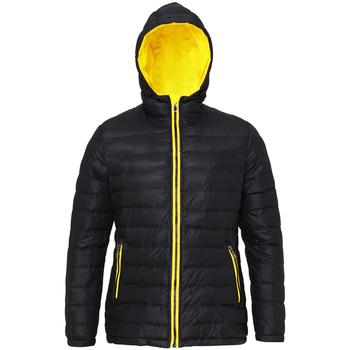 Abbigliamento Donna Piumini 2786 TS16F Nero/Giallo Brillante