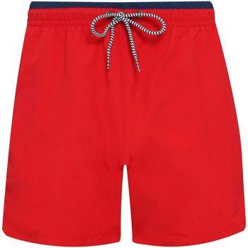 Abbigliamento Uomo Shorts / Bermuda Asquith & Fox AQ053 Rosso/Blu Navy