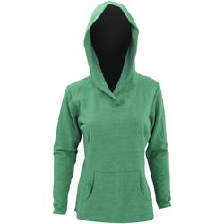 Abbigliamento Donna Felpe Anvil 72500L Erica verde