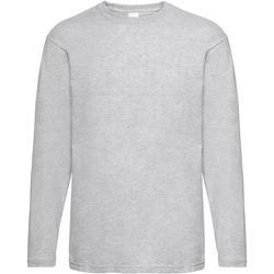 Abbigliamento Uomo T-shirts a maniche lunghe Universal Textiles 61038 Grigio screziato