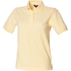 Abbigliamento Donna Polo maniche corte Henbury HB401 Limone