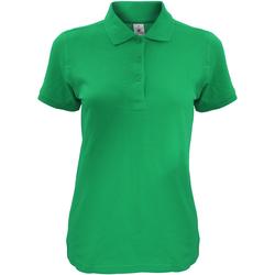 Abbigliamento Donna Polo maniche corte B And C Safran Verde kelly