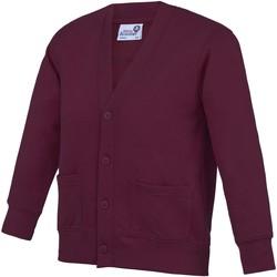 Abbigliamento Unisex bambino Gilet / Cardigan Awdis  Vino