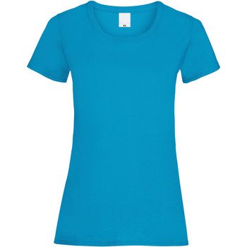 Abbigliamento Donna T-shirt maniche corte Universal Textiles 61372 Ciano