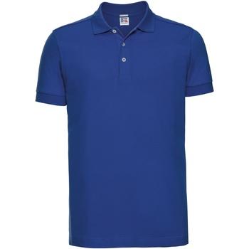 Abbigliamento Uomo Polo maniche corte Russell 566M Blu reale acceso