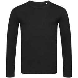 Abbigliamento Uomo T-shirts a maniche lunghe Stedman Stars  Nero