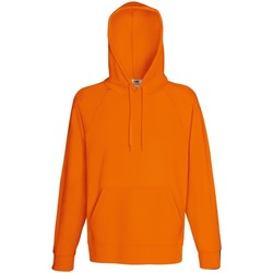 Abbigliamento Uomo Felpe Fruit Of The Loom 62140 Arancio