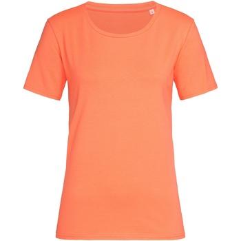Abbigliamento Donna T-shirt maniche corte Stedman  Rosa salmone