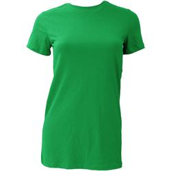 Abbigliamento Donna T-shirt maniche corte Bella + Canvas BE6004 Verde kelly
