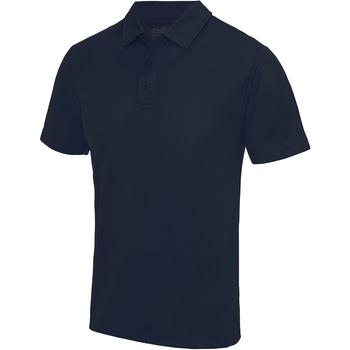 Abbigliamento Uomo Polo maniche corte Awdis JC040 Blu Navy