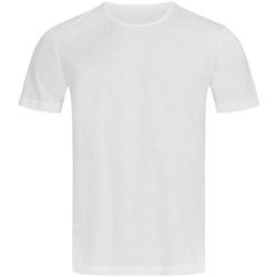 Abbigliamento Uomo T-shirt maniche corte Stedman Stars Shawn Bianco