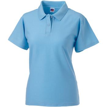 Abbigliamento Donna Polo maniche corte Jerzees Colours 539F Azzurro cielo