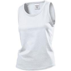 Abbigliamento Donna Top / T-shirt senza maniche Stedman  Bianco