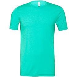 Abbigliamento Uomo T-shirt maniche corte Bella + Canvas CA3001 Verde Acqua screziato