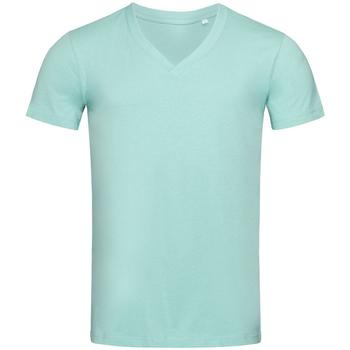 Abbigliamento Uomo T-shirt maniche corte Stedman Stars  Azzurro chiaro