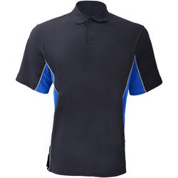 Abbigliamento Uomo Polo maniche corte Gamegear KK475 Blu navy/Azzurro/Bianco