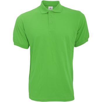 Abbigliamento Uomo Polo maniche corte B And C PU409 Verde