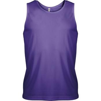 Abbigliamento Uomo Top / T-shirt senza maniche Kariban Proact PA441 Violetta