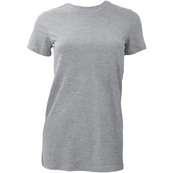 Abbigliamento Donna T-shirt maniche corte Bella + Canvas BE6004 Grigio sportivo
