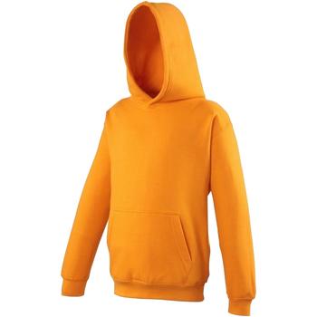 Abbigliamento Unisex bambino Felpe Awdis JH01J Arancio