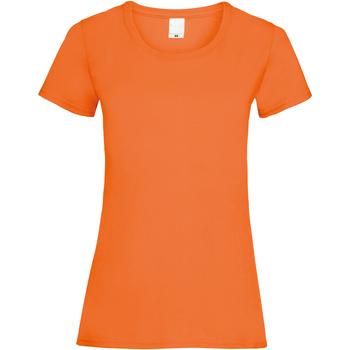 Abbigliamento Donna T-shirt maniche corte Universal Textiles 61372 Arancione brillante
