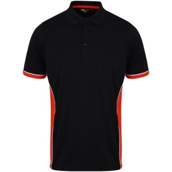 Abbigliamento Uomo Polo maniche corte Finden & Hales TopCool Blu/Rosso/Bianco
