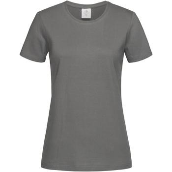 Abbigliamento Donna T-shirt maniche corte Stedman  Grigio medio