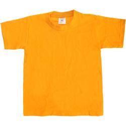 Abbigliamento Unisex bambino T-shirt maniche corte B And C Exact 190 Oro