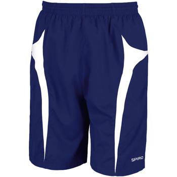 Abbigliamento Uomo Shorts / Bermuda Spiro S184X Blu navy/Bianco