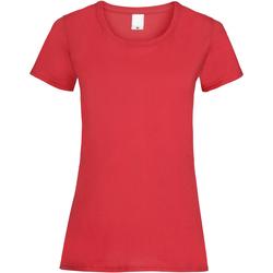 Abbigliamento Donna T-shirt maniche corte Universal Textiles 61372 Rosso brillante