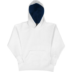 Abbigliamento Unisex bambino Felpe Sg SG24K Bianco/Blu navy