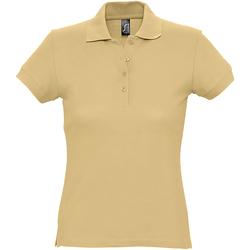 Abbigliamento Donna Polo maniche corte Sols 11338 Sabbia
