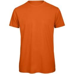 Abbigliamento Uomo T-shirt maniche corte B And C TM042 Arancio urban