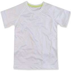 Abbigliamento Unisex bambino T-shirt maniche corte Stedman  Bianco
