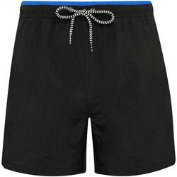 Abbigliamento Uomo Costume / Bermuda da spiaggia Asquith & Fox AQ053 Nero/Blu Reale
