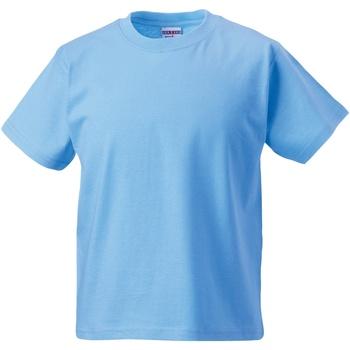 Abbigliamento Unisex bambino T-shirt maniche corte Jerzees Schoolgear ZT180B Azzurro cielo