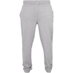 Abbigliamento Uomo Pantaloni da tuta Build Your Brand BY014 Erica grigia